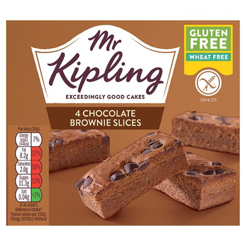Mr Kipling Gluten Free Brownie Slice