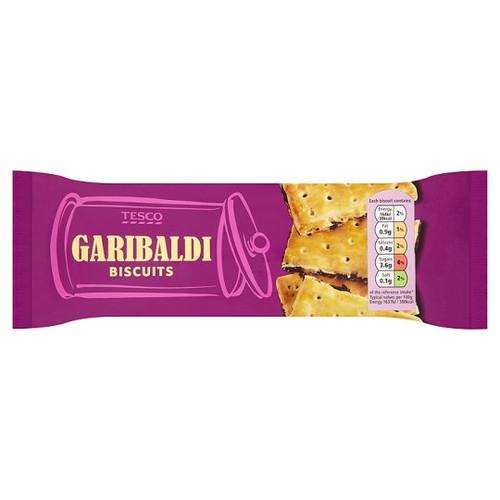 Tesco Garibaldi Biscuits 200G