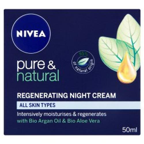 Nivea  Pure & Natural Regenerating Night Cream