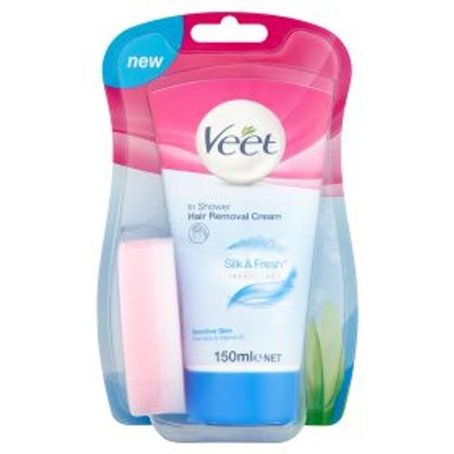 Veet In Shower Cream Sensitive Hair Removal Cream 150ml