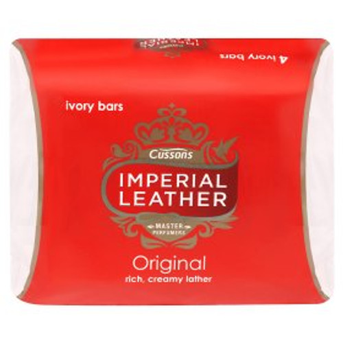 Imperial Leather Original Soap Bars 4 Per Pack