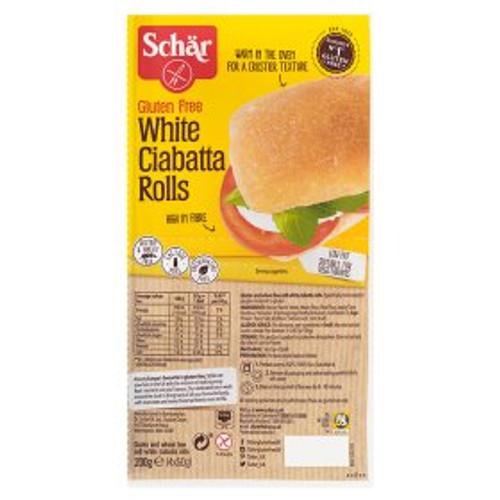 Schar Gluten Free White Ciabatta Rolls