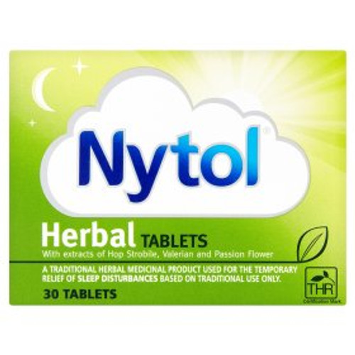 Nytol Night Time Sleep Aid Herbal Tablets