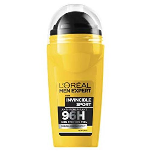 L'Oreal Men Expert Invincible Sport 96H Roll-On Deodorant 50ml