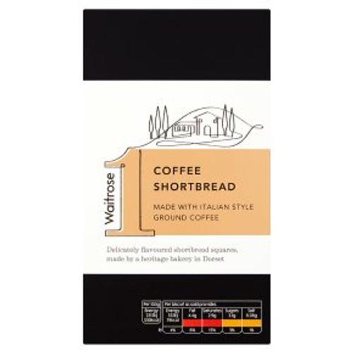Waitrose 1 Coffee Shortbread