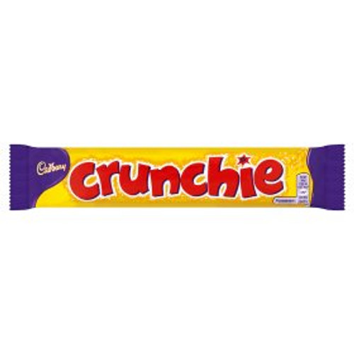 Cadbury Crunchie Chocolate Bar 6 Pack