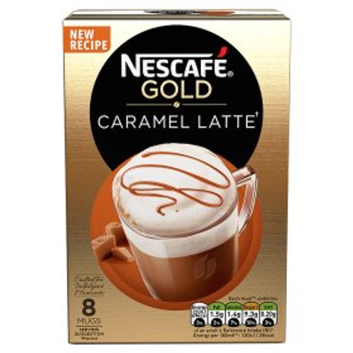 Nescafe Gold Caramel Latte Coffee Sachets