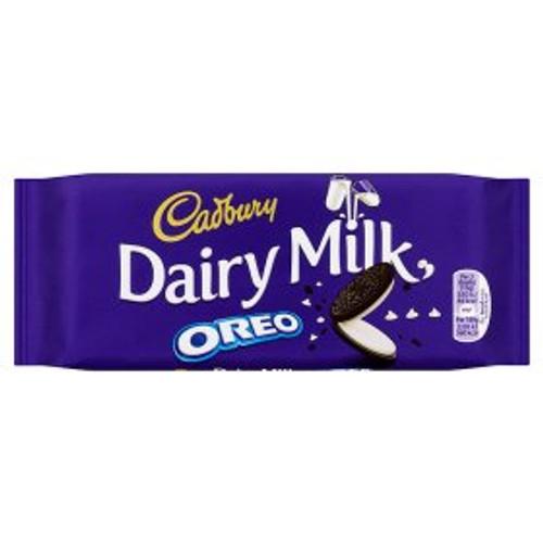 Cadbury Dairy Milk with Oreo Chocolate Bar 120G