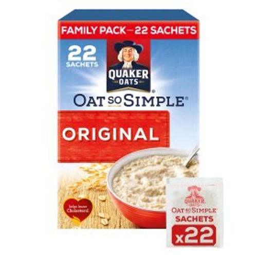Quaker Oat So Simple Family Pack Original Porridge