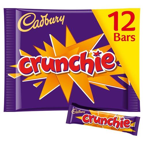 Cadbury Crunchie Treatsize Bars 210g