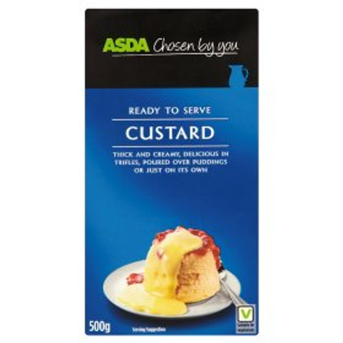 ASDA Ready to Serve Custard 500g