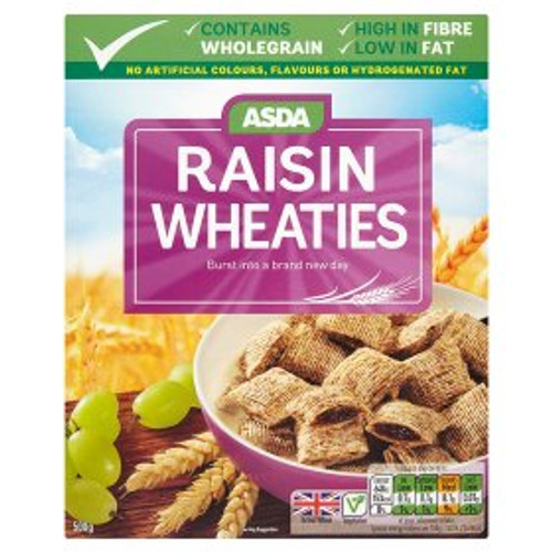 ASDA Raisin Wheaties 500g