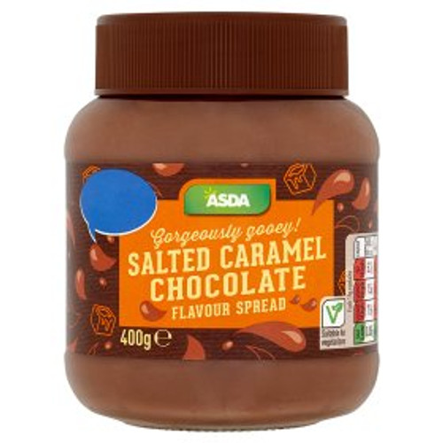 ASDA Salted Caramel Chocolate Flavour Spread 400g