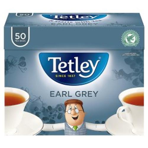 Tetley Earl Grey Tea Bags 50