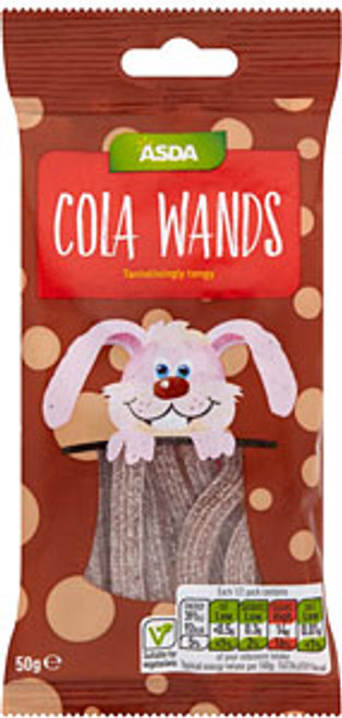 ASDA Cola Wands 45g