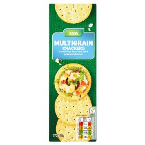ASDA Multigrain Crackers 170g