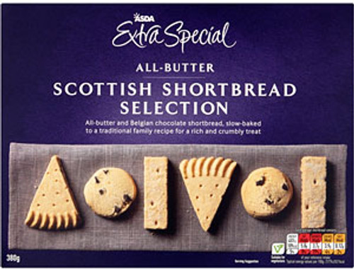 ASDA Extra Special Scottish All Butter Shortbread Selection 380g