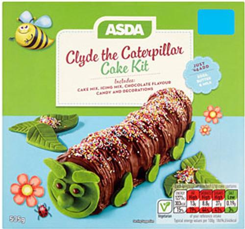 ASDA Clyde the Caterpillar Cake Kit 535g