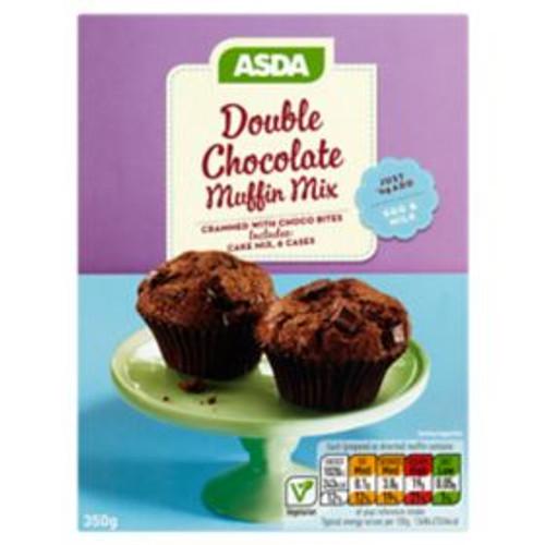 ASDA Double Chocolate Muffin Mix 350g