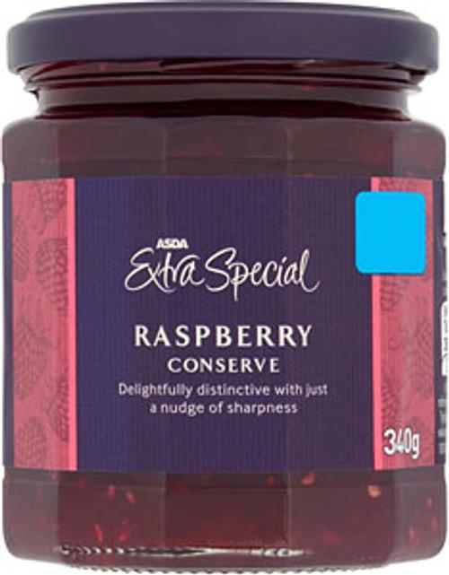 ASDA Extra Special Raspberry Conserve 340g