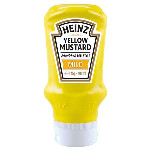 Heinz Yellow Mustard Mild 400ml