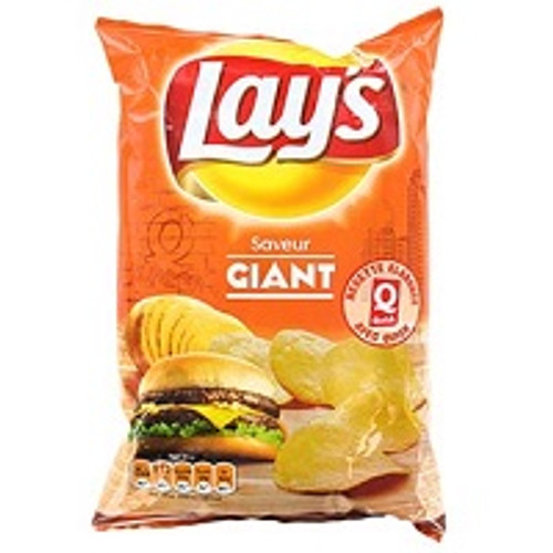 Lays Chips Cheeseburger Giant 120g