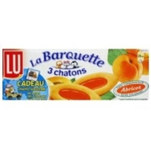 LU Barquette 3 Chatons Abricot 120g