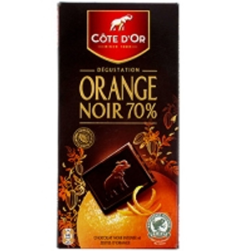 Cote D'Or Dégustation Noir Orange 100g