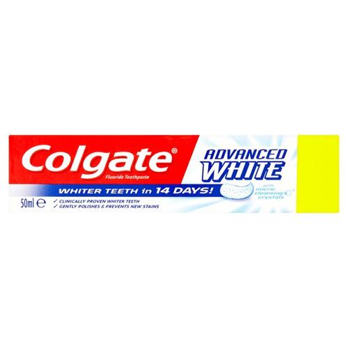 Colgate Advanced White Whitening Toothpaste 50ml