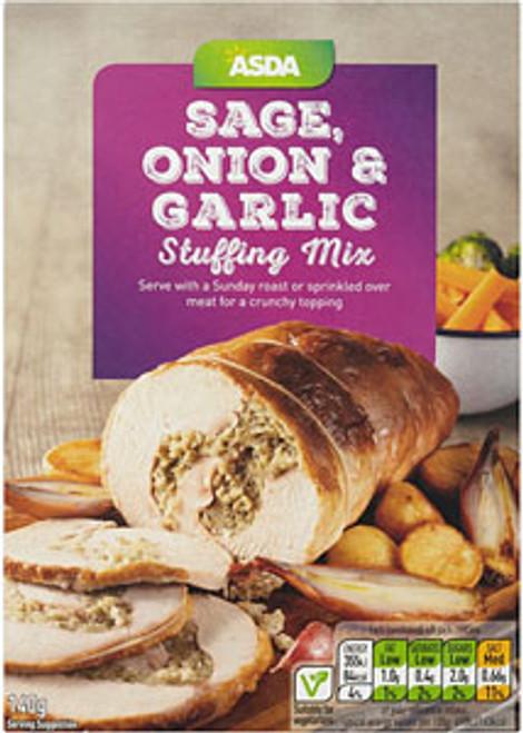 ASDA Sage Onion & Garlic Stuffing Mix 140g
