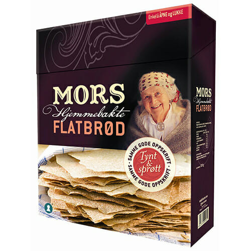 Mors Flatbrod – Thin Crispy Flatbread 520g