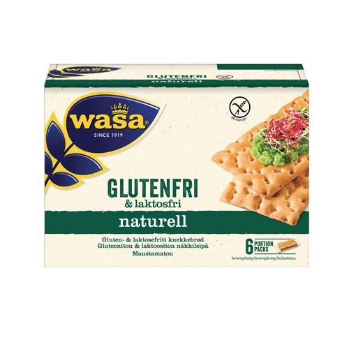 Wasa Gluten-Laktosfritt – Crispbread Gluten & Lactose Free 240g