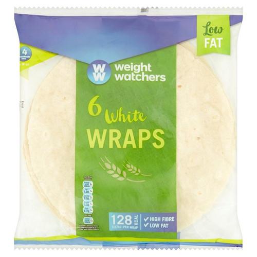 Weight Watchers Plain Tortillas 6pk