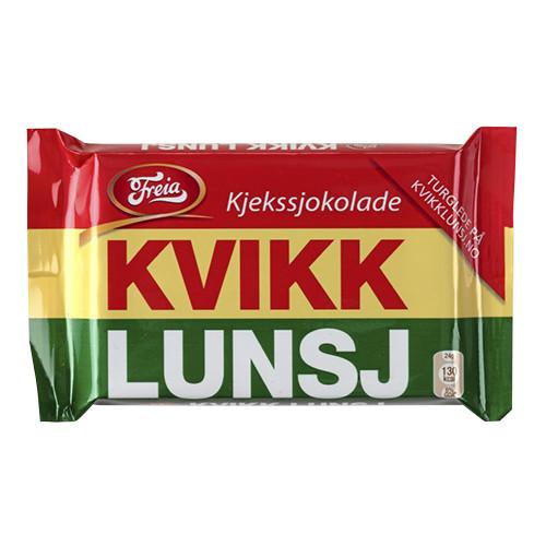 Freia Kvikklunsj – Chocolate Covered Wafer 47g
