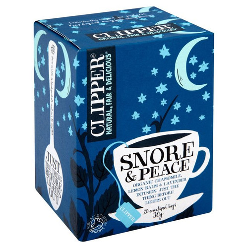 Clipper Snore And Peace 20 Bags