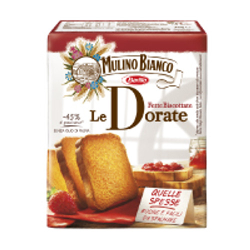 Mulino Bianco Armonie Fette Biscottate Dorate Classic Rusks 315g