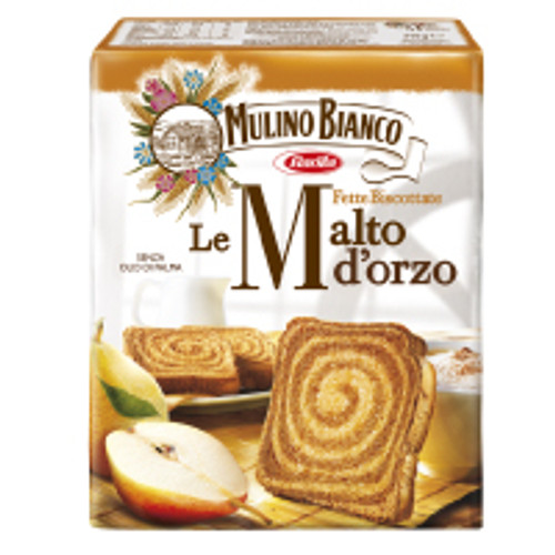 Mulino Bianco Armonie Fette Biscottate Malt Barley Rusks 315g