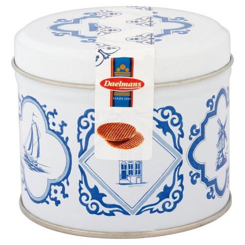 Daelmans Caramel Wafers Stroopwafels Blue Tin