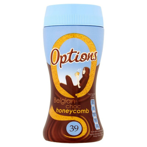 Options Belgian Chocolate Honeycomb 220g