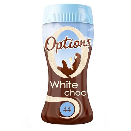 Options White Chocolate 220g