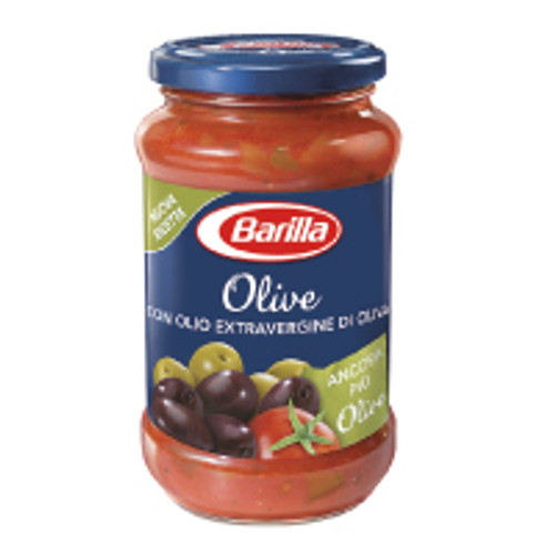 Barilla Tomato Sauce with Olives 400g