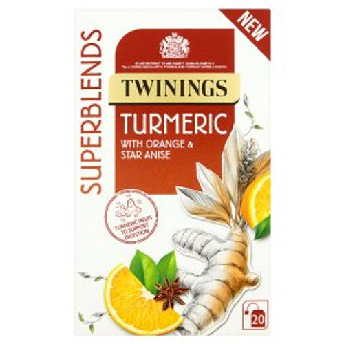 Twinings Superblends Tumeric 20 Tea Bags