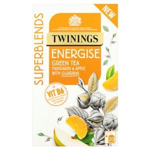 Twinings Superblends Energise 20 Tea Bags