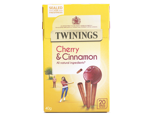 Twinings Cherry And cinnamon 20 Bags 40 g