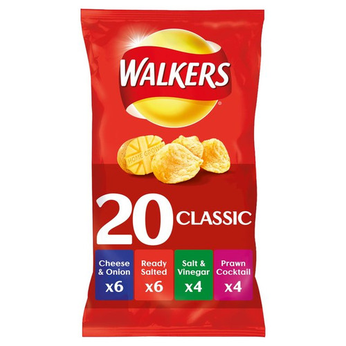 Walkers Variety 20 x 25g