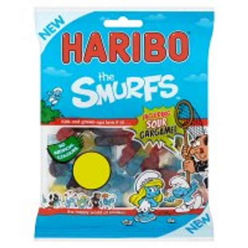 Haribo The Smurfs Bag 160g