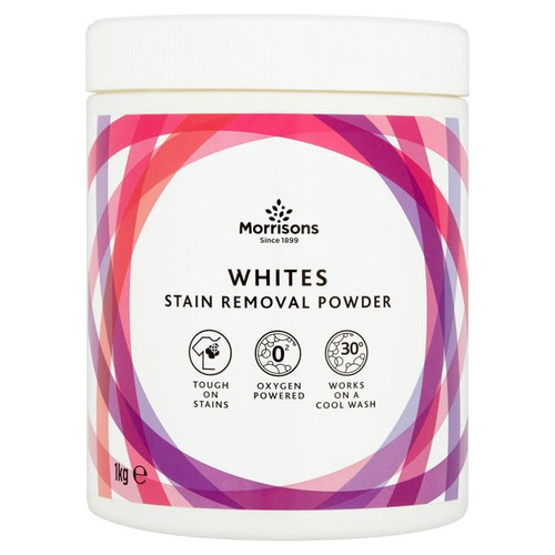 Morrisons Whites Stain Removal Powder 1kg