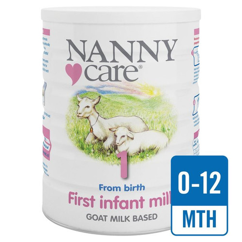 Nanny Care 1 From Birth First Infant Milk  Goat Milk Based 900g