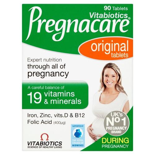 Vitabiotics Pregnacare Tablets 90 per pack