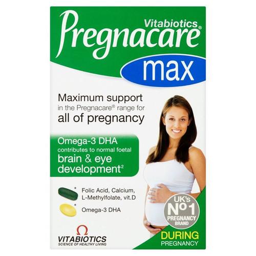 Vitabiotics Pregnacare Max Capsules 84 per pack